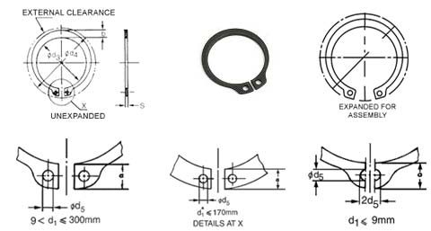 External Circlip Light Series